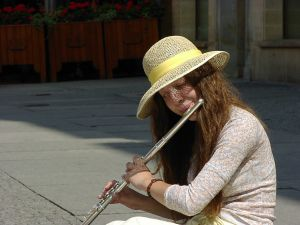 214155 flute player Is Busking Illegal?